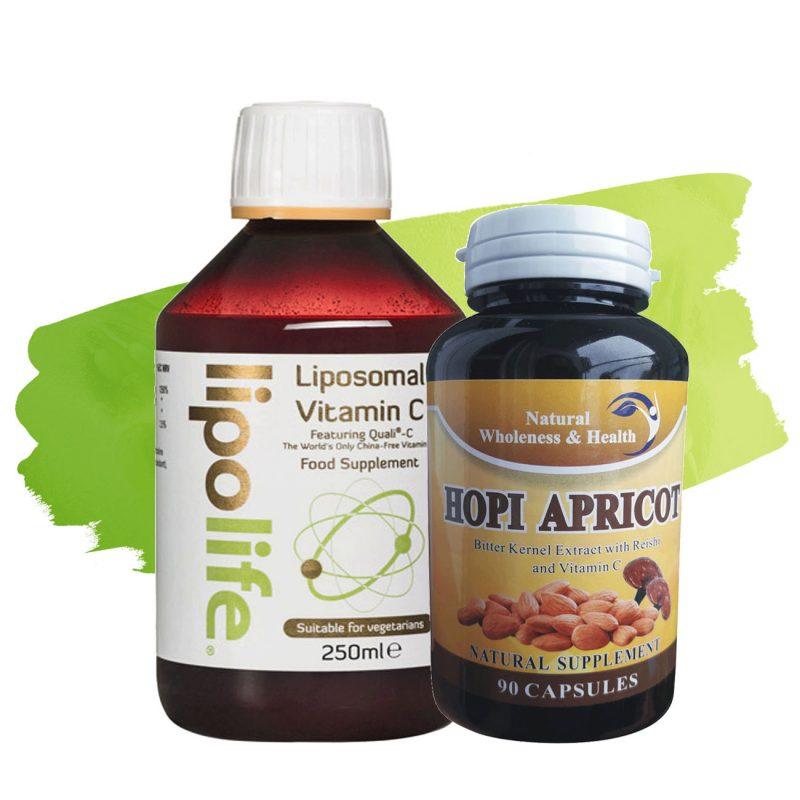 hopi apricot i lipolife liposomal vitamin c paket